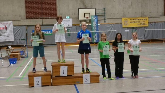 ME U13: 2. Platz: Theresa Six