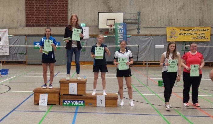 ME U17: 6. Platz: Josephine Dau