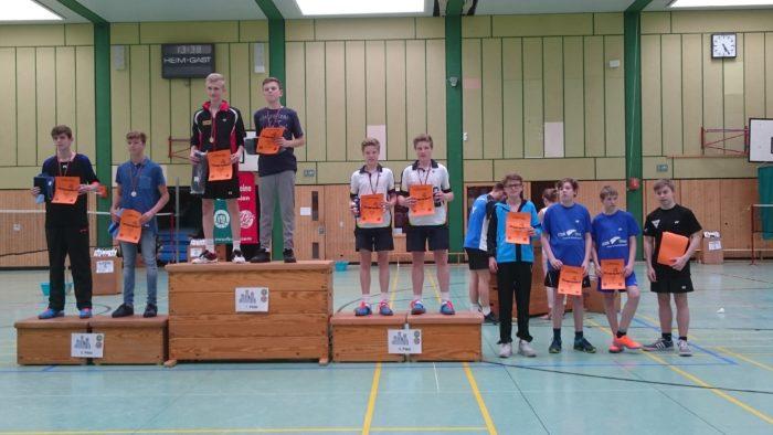 JD U15: 4. Platz: Hannes Weinholz/Jannik Schmidt (fehlt)