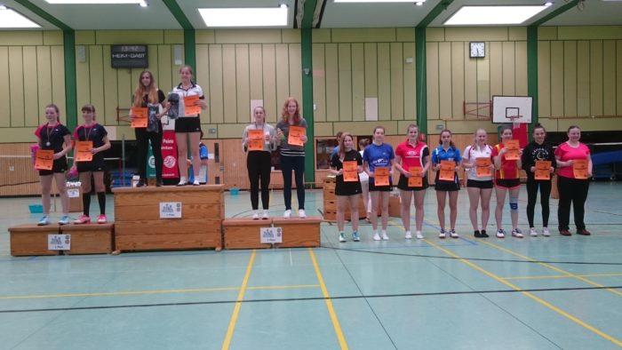 MD U17: 8. Platz: Josephine Dau/Lea Schaar