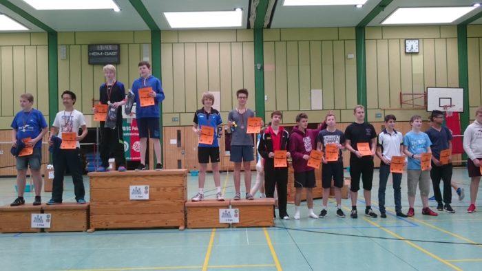 JD U17: 3. Platz: Moritz Koch/Julian Bär (SV Lengede)