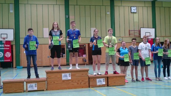 GD U17: 4. Platz: Moritz Koch/Josephine Dau