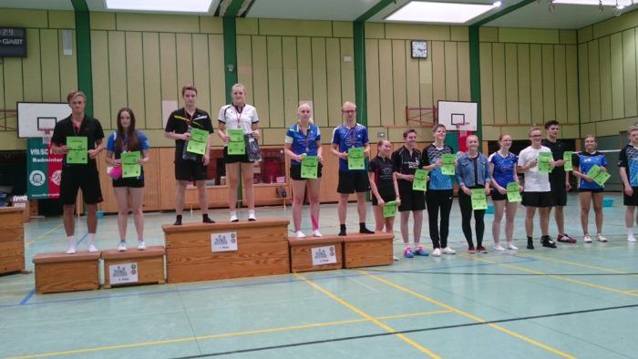 GD U19: 6. Platz: Enrico Jakobi/Sarah Fincks (TuS Schwinde)