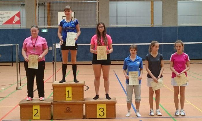 ME U17: 2. Platz: Josephine Dau