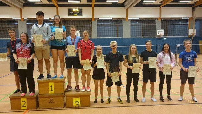 GD U17: 2. Platz: Moritz Koch / Josephine Dau