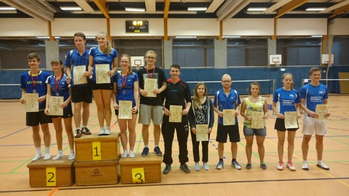 GD U19: 3. Platz: Enrico Jakobi / Sarah Fincks (TuS Schwinde)
