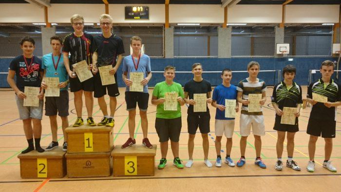 JD U17: 2. Platz: Marcel Czaya / Niklas Cebulski (VfL Lüneburg)