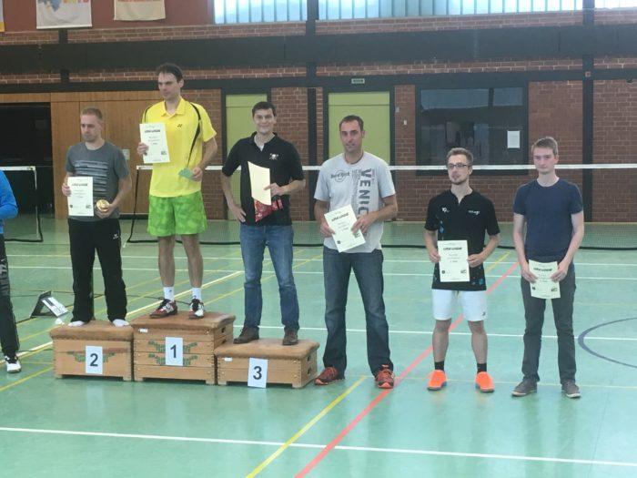 HE C1: 3. Platz: Uwe Lau, 4. Platz: Frank Bereit, 6. Platz: Ole Paulsen