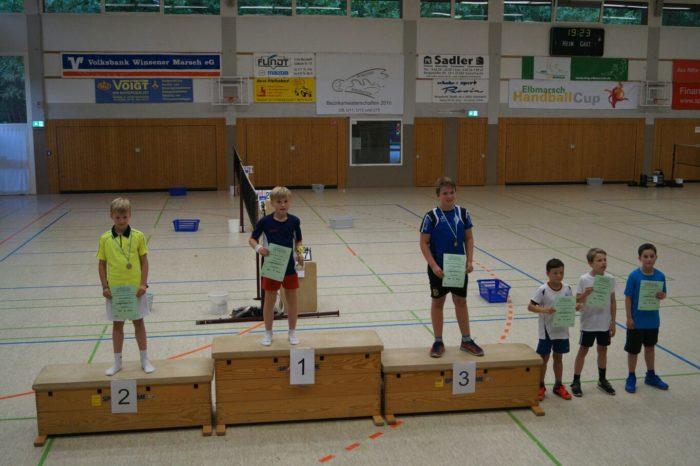 JE U11: 4. Platz: Jonas Lau, 6. Platz: Tom Burg
